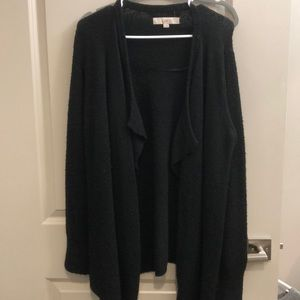 Loft black cardigan size small
